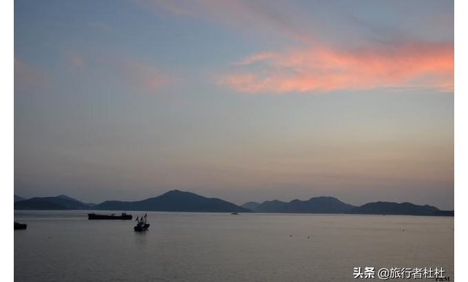 舟山旅游超高颜值的蓝白调海岛-白沙岛