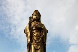 舟山普陀山旅游,南海观音