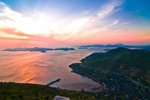 中国最美海岸线舟山旅游朱家尖岛