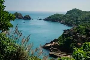 舟山旅游嵊泗列岛之枸杞岛,海上仙境