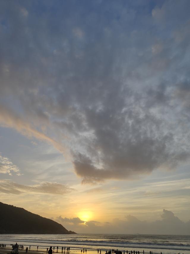 舟山旅游朱家尖东沙湾露营、观日出周末两日亲子游