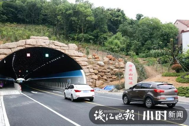舟山旅游网红隧道走红,能一路看得见星星
