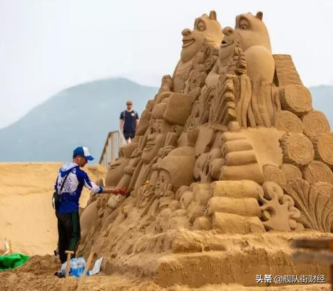 舟山朱家尖沙雕节已成世界沙雕荟萃之地