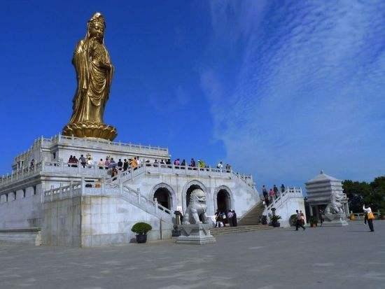 舟山普陀山旅游佛教名山就是物价有点高