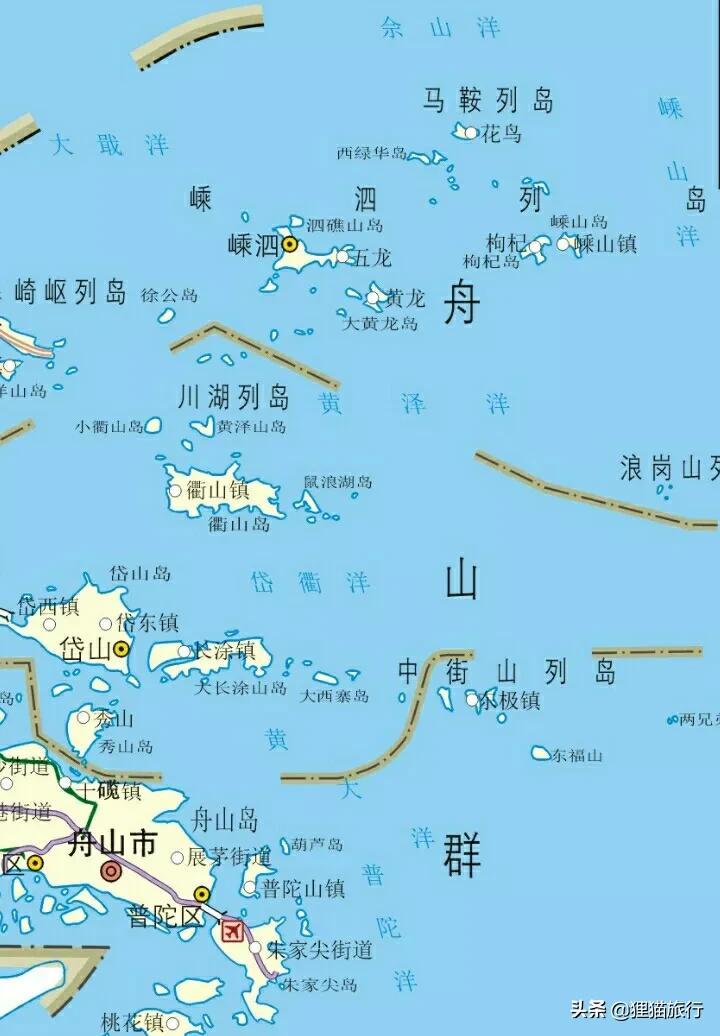 舟山群岛有趣的岛屿,很多都没见过