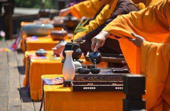 普陀山佛茶的历史!南宋将茶与佛教联系了起来