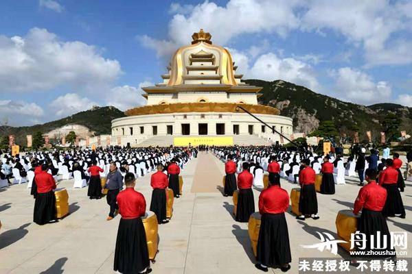 舟山旅游多了新去处普陀观音文化园开园