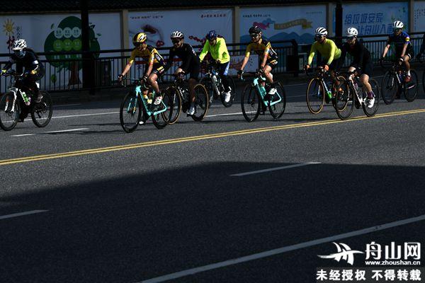 舟山旅游迎来第二届环自行车骑游大会今激情开幕