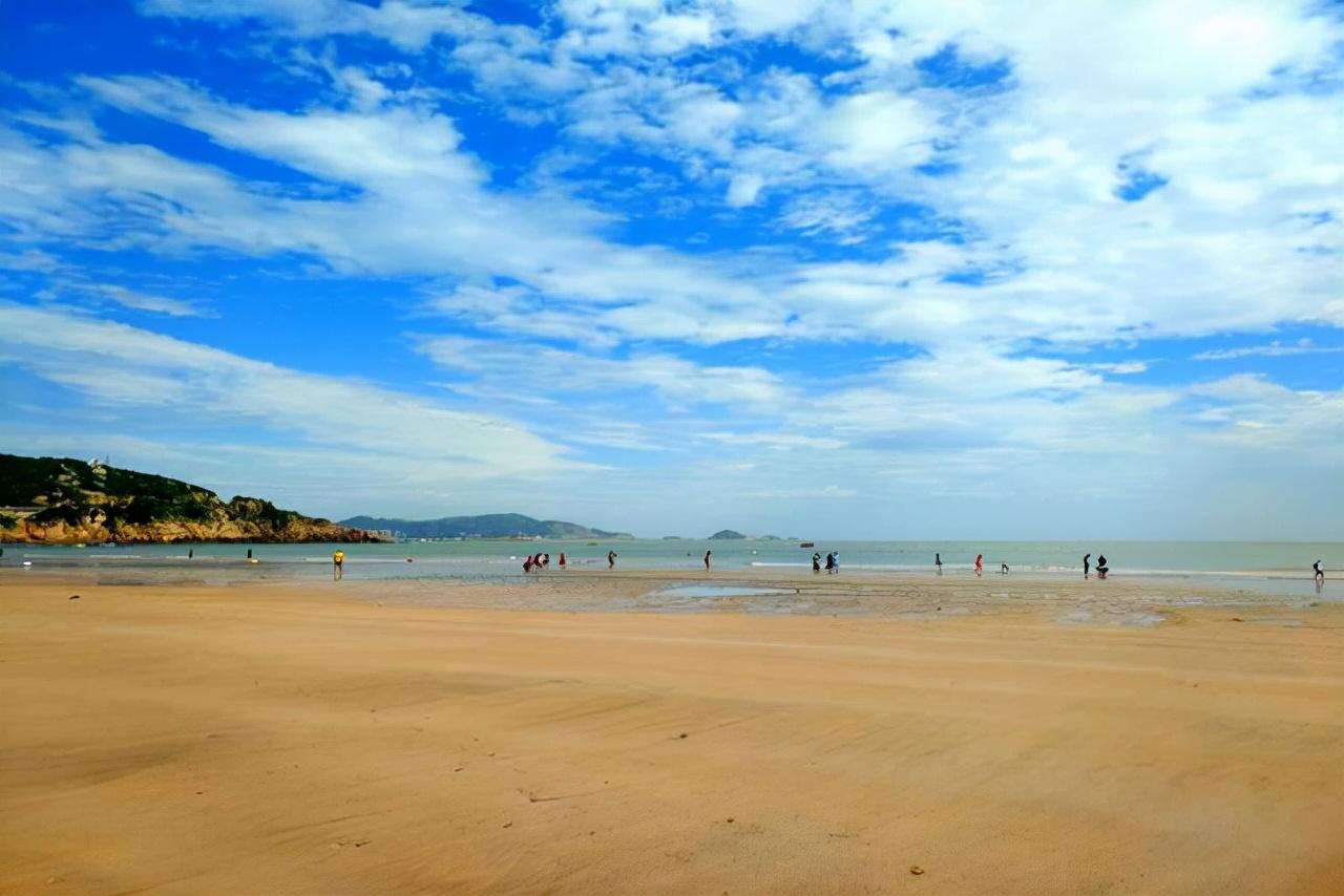 舟山旅游八大沙滩,带你体验不一样的风情